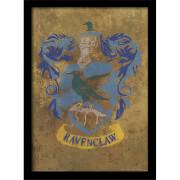 Affiche Encadrée Blason Serdaigle Harry Potter - 30 x 40 cm