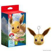 Pokémon: Let's Go, Eevee! + Poké Ball Plus Pack + Eevee Keychain