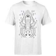 Harry Potter Aragog Line Art Men's T-Shirt - White