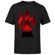 Harry Potter Minerva McGonagall Silhouette Herren T-Shirt - Schwarz