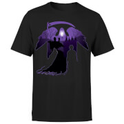 Harry Potter Graveyard Silhouette Men's T-Shirt - Black