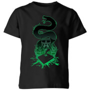Harry Potter Basilisk Silhouette Kids' T-Shirt - Black