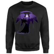 Harry Potter Graveyard Silhouette Sweatshirt - Black