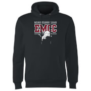 East Mississippi Community College Distressed Lion Hoodie - Black
