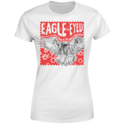 Natural History Museum Eagle Eyed Women's T-Shirt - White