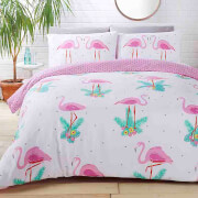 Rapport Flamingos Duvet Set - Multi