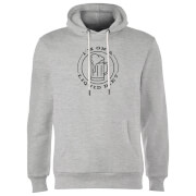 Liquid Diet Beer Hoodie - Grey