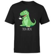 Tea Rex Men's T-Shirt - Black