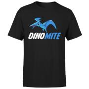 Dino Mite Men's T-Shirt - Black