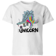 DinoUnicorn Kids' T-Shirt - White