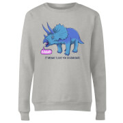 Rawr It Means I Love You Women's Sweatshirt - Grey