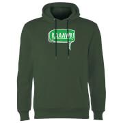 Raaawr Hoodie - Forest Green