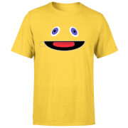 Rainbow Zippy Face Men's T-Shirt - Yellow