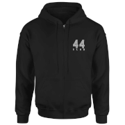 How Ridiculous 44 Club Zipped Hoodie - Black