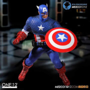 Mezco One:12 Classic Captain America with Tin - SDCC 2016 Exclusive