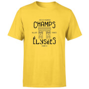 Champs Elysees Winner Men's T-Shirt - Yellow