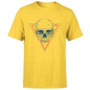 Skull Men's T-Shirt - Yellow