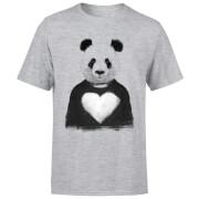 Panda Love Men's T-Shirt - Grey