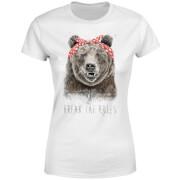 Break The Rules Women's T-Shirt - White