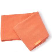 Aquis Lisse Luxe Hair Towel ręcznik do włosów – Tangerine Sunrise