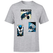 T-Shirt Homme Collage Venom - Gris
