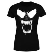 Venom Bare Teeth Damen T-Shirt - Schwarz