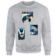 Sweat Femme  Collage Venom - Gris