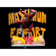 Marvel Deadpool Maximum Effort MAX Diorama Q-Fig