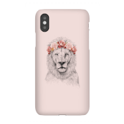 Lion And Flowers Phone Case for iPhone and Android