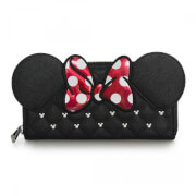 Loungefly Disney Minnie Mouse Bow Zip Around Wallet