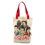 Loungefly Stranger Things Sqad Canvas Tote Bag