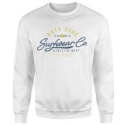 Native Shore Athletic DEPT. Sweatshirt - White