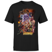 Avengers Team Portrait Men's T-Shirt - Black