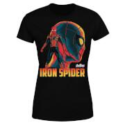 Camiseta Marvel Vengadores Iron Spider - Mujer - Negro