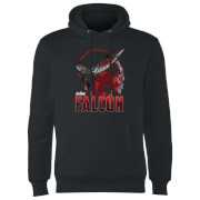 Avengers Falcon Hoodie - Schwarz