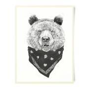 Bandana Panda Art Print