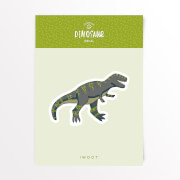 Dinosaurier Tyrannosaurus Rex Vinyl Aufkleber