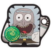 FoundMi Rick & Morty: Rik Rubber Key Chain Tracker