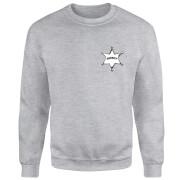 Toy Story Sheriff Woody Badge Sweatshirt - Grey