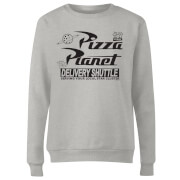 Toy Story Pizza Planet Logo Women's Sweatshirt - Grey