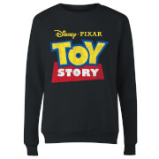 Toy Story Logo Women's Sweatshirt - Black