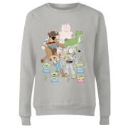 Toy Story Group Shot Women's Sweatshirt - Grey