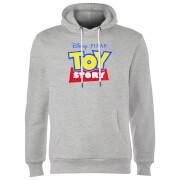 Sweat à Capuche Homme Logo Toy Story - Gris