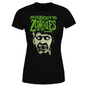 Hammer Horror Plague Of The Zombies Portrait Women's T-Shirt - Black
