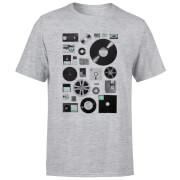 Data Men's T-Shirt - Grey