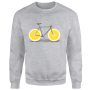 Citrus Lemon Sweatshirt - Grey