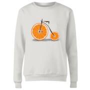 Citrus Women's Sweatshirt - White