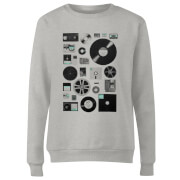 Data Women's Sweatshirt - Grey