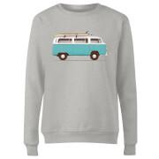Blue Van Women's Sweatshirt - Grey