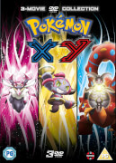 Pokemon Movie 17-19 Collection: XY (Diancie and the Cocoon of Destruction, Hoopa and the Clash of Ages, Volcanion and the Mechanical Marvel)
